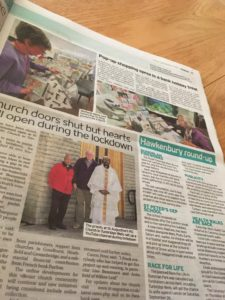 how to get press coverage for a non-profit my church